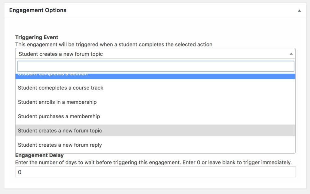engagement triggers