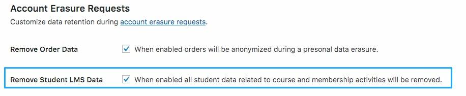 Remove Student LMS Data