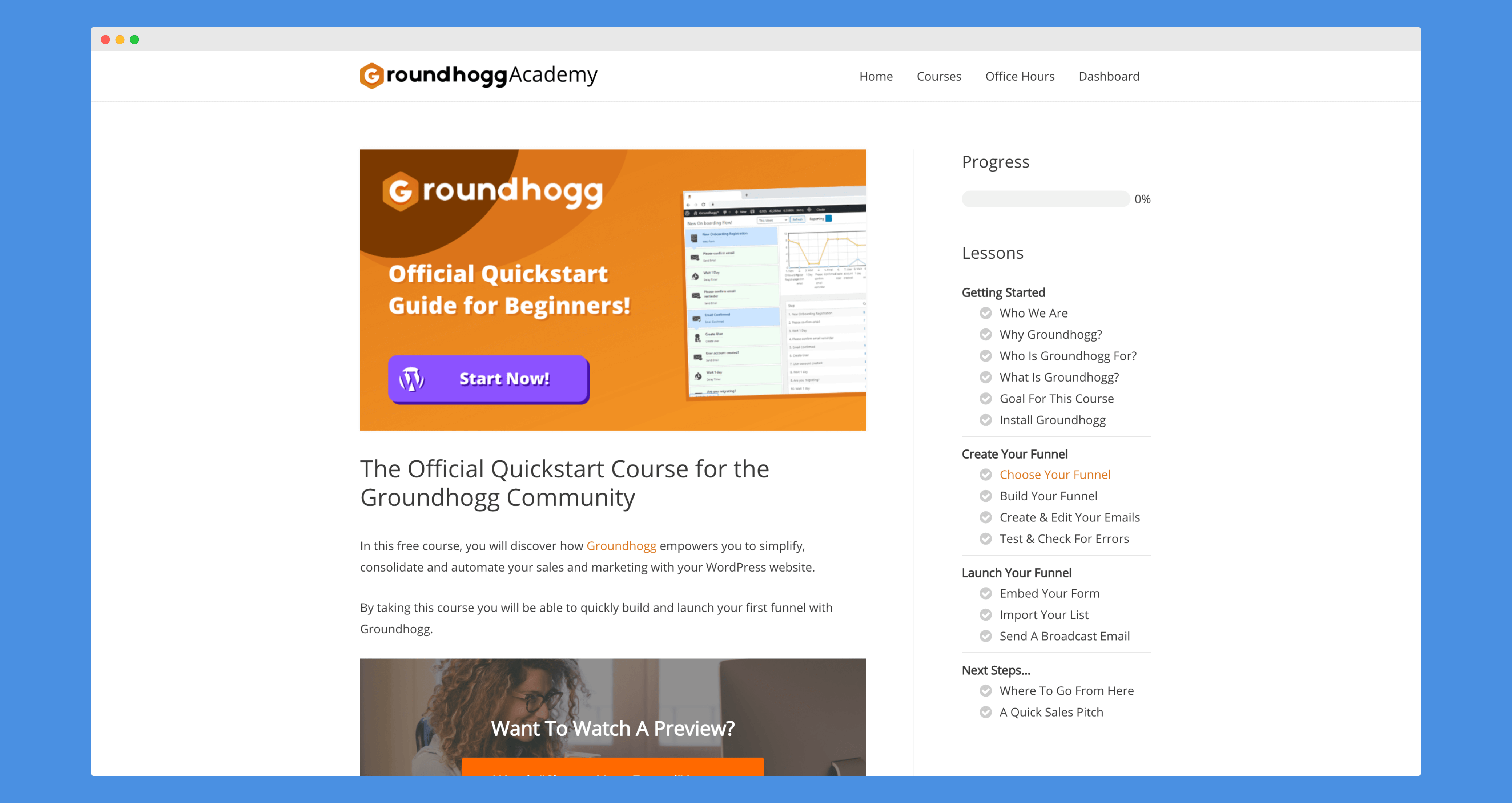The Groundhogg Quickstart Course (1)