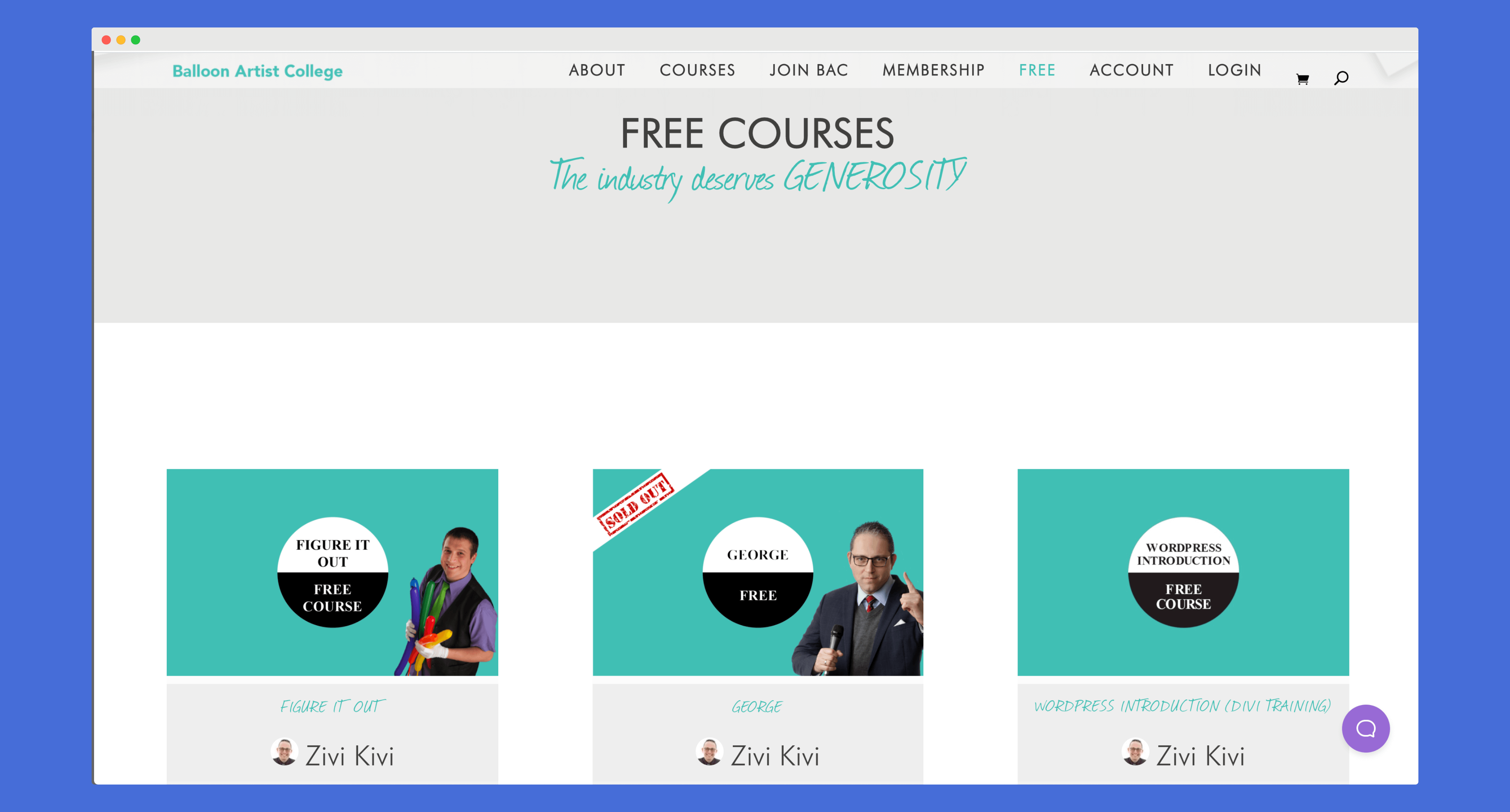 Baloon Artist College Free Courses