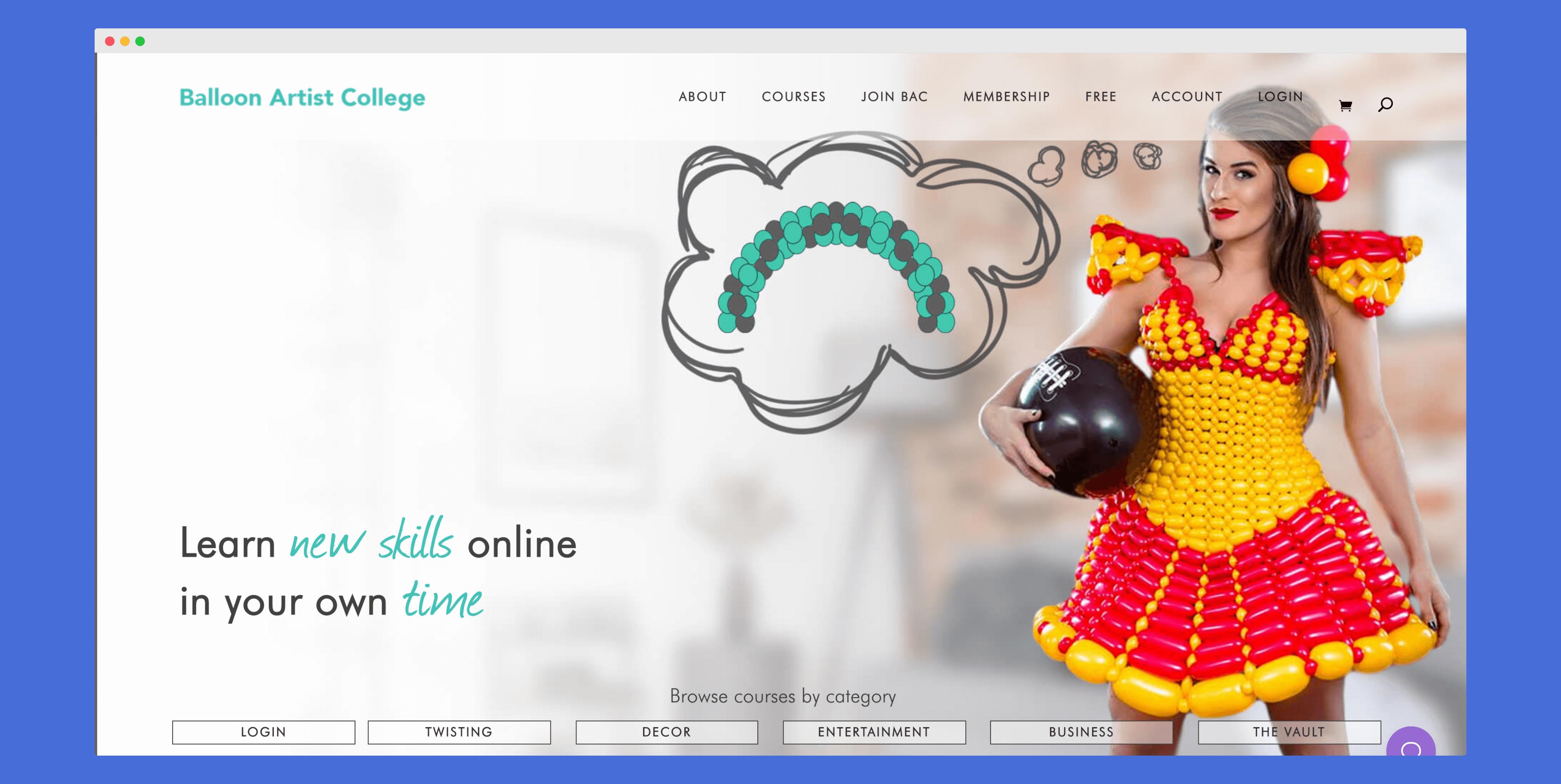 Baloon Artist College Homepage